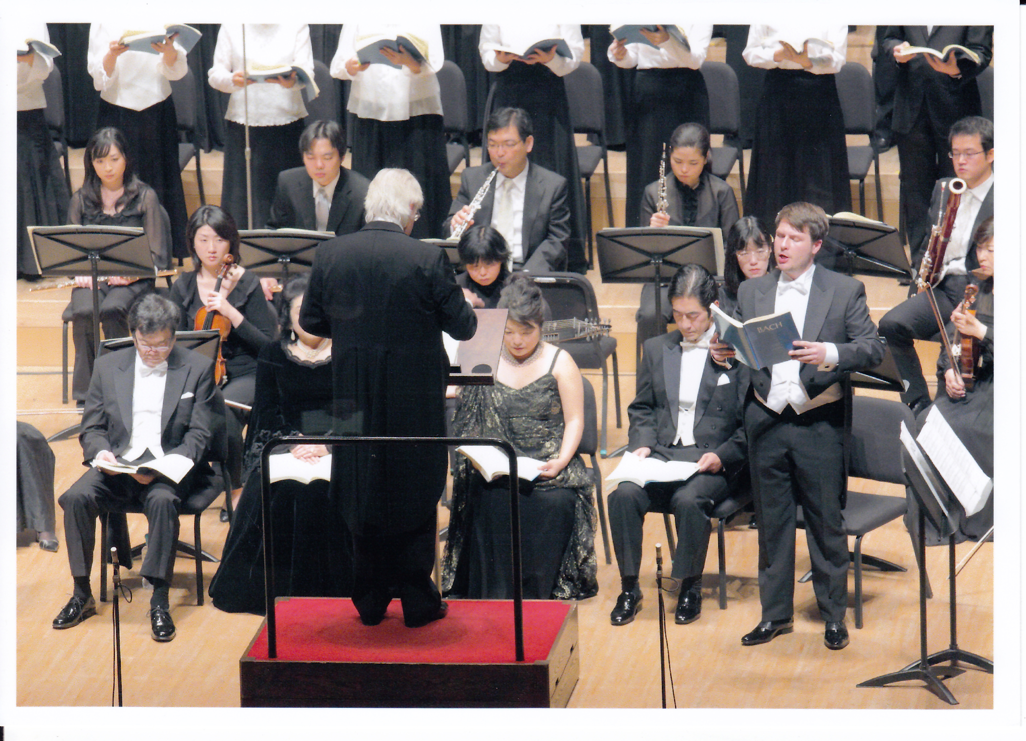 Bachs »Johannes-Passion« 2009 in Tokyo, Japan