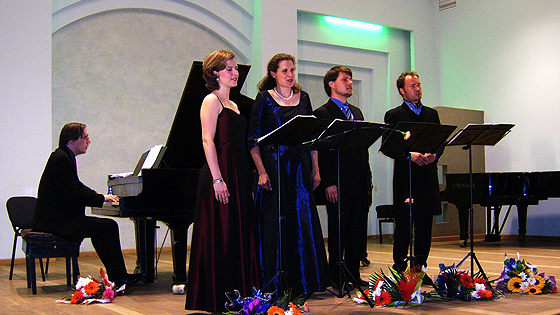 Liederabend 2007 in Minsk, Weissrussland