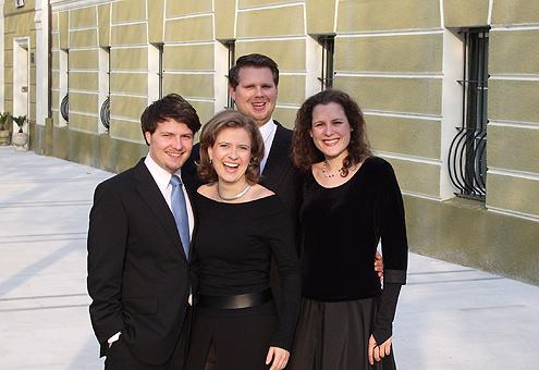Solistenquartett für Mozarts »Requiem«, 2006 in Spanien
