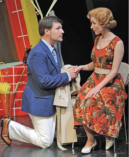 Robert von Hartenau in Künnekes »Glückliche Reise«, 2011 am Theater Hildesheim